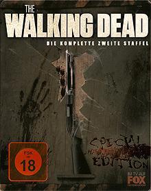 The Walking Dead - Die komplette zweite Staffel (Uncut, Steelbook) [FSK 18] [Blu-ray]