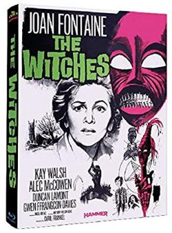 The Witches (Der Teufel tanzt um Mitternacht) (Limited Mediabook, Cover A) (1966) [Blu-ray]