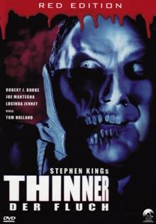 Thinner - Der Fluch (Red Edition Reloaded, Kleine Hartbox) (1996) [FSK 18]
