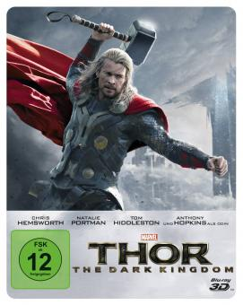 Thor - The Dark Kingdom (Limited Collectors Steelbook Edition, 3D Blu-ray+Blu-ray) (2013) [3D Blu-ray]