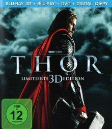 Thor (3D Version inkl. 2D Blu-ray, DVD + Digital Copy) (2011) [3D Blu-ray]