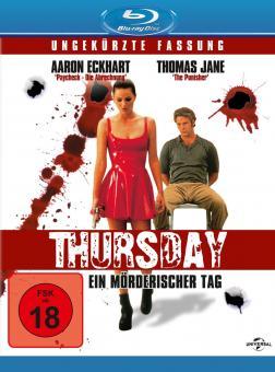 Thursday - Ein mörderischer Tag (1998) [FSK 18] [Blu-ray]