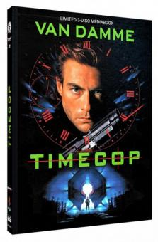 Timecop (Limited Mediabook, Blu-ray+DVD, Cover C) (1994) [Blu-ray]