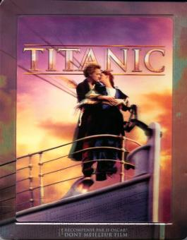 Titanic (4 Disc Edition, inkl. 2D Blu-ray) (Limited Steelbook) (1997) [3D Blu-ray]