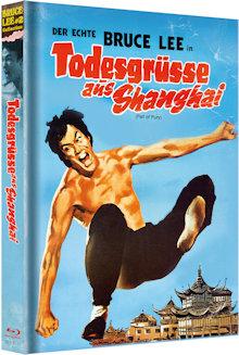 Bruce Lee - Todesgrüße aus Shanghai (Limited Mediabook, Blu-ray+DVD) (1972) [Blu-ray]
