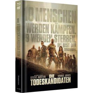 Die Todeskandidaten (Limited Mediabook, Blu-ray+DVD, Cover A) (2007) [FSK 18] [Blu-ray]
