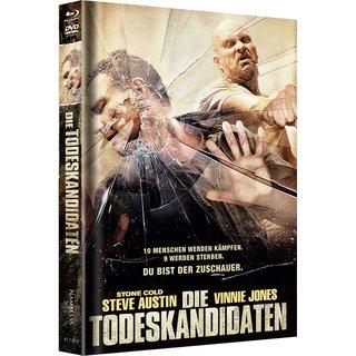 Die Todeskandidaten (Limited Mediabook, Blu-ray+DVD, Cover C) (2007) [FSK 18] [Blu-ray]