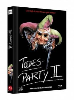 Die Todesparty 2 (Cutting Class) (Limited Mediabook, Blu-ray+DVD, Cover D) (1989) [FSK 18] [Blu-ray]