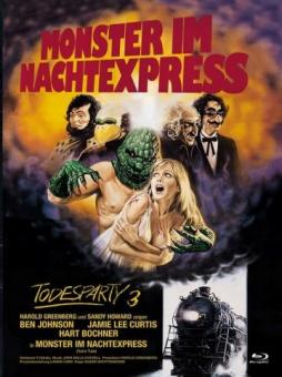 Todesparty 3 - Monster im Nachtexpress (Limited Mediabook, Blu-ray+DVD, Cover A) (1980) [FSK 18] [Blu-ray]
