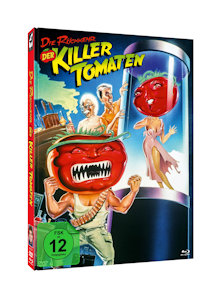 Die Rückkehr der Killertomaten (Limited Mediabook, Blu-ray+DVD, Cover B) (1988) [Blu-ray]