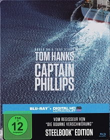Captain Phillips (Limited Steelbook) (2013) [Blu-ray]
