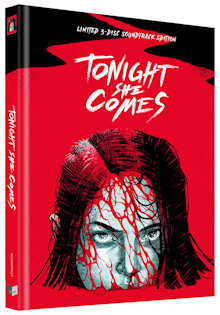Tonight She Comes - Die Nacht der Rache (Limited Mediabook, Blu-ray+DVD+CD, Cover F) (2016) [FSK 18] [Blu-ray]