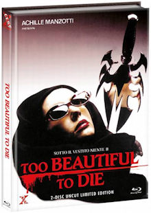 Sotto il vestito niente 2 (Too Beautiful To Die) (Limited Mediabook, Blu-ray+DVD, Cover A) (1988) [FSK 18] [Blu-ray]