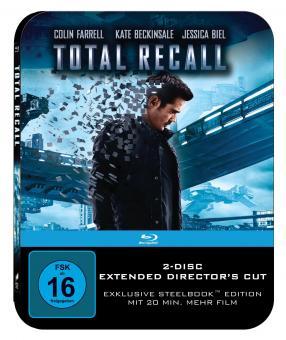 Total Recall (Steelbook Edition) (2012) [Blu-ray]
