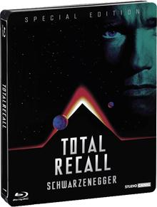 Total Recall - Totale Erinnerung (Jubiläums Edition/Steelbook) (1990) [FSK 18] [Blu-ray]