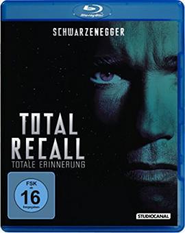 Total Recall (Uncut) (1990) [Blu-ray] [Gebraucht - Zustand (Sehr Gut)]