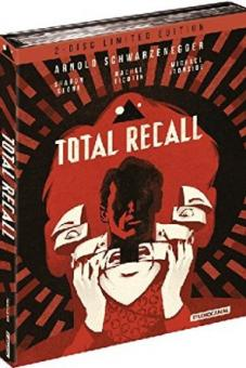 Total Recall (Limited Mediabook Remastered, Blu-ray+DVD) (1990) [FSK 18] [Blu-ray]