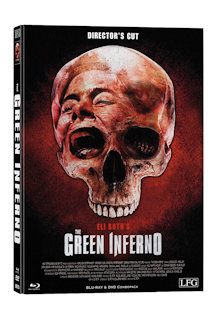 The Green Inferno (Director's Cut) (Limited Mediabook, Blu-ray+DVD, Cover D) (2013) [FSK 18] [Blu-ray]