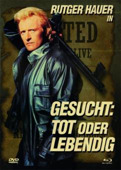 Gesucht: Tot oder lebendig (Limited Mediabook, Blu-ray+DVD) (1987) [FSK 18] [Blu-ray]