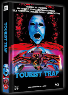 Tourist Trap (4 Disc Limited Mediabook, Blu-ray+DVD, Cover A) (1979) [FSK 18] [Blu-ray]