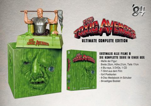 The Toxic Avenger (8 Disc Ultimate Edition, inkl. Figur) (1984) [FSK 18] [Blu-ray]