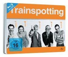 Trainspotting - Limited Quersteelbook (1996) [Blu-ray]