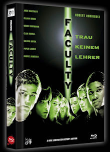 Faculty - Trau keinem Lehrer (Limited Mediabook, Blu-ray+DVD, Cover C) (1998) [Blu-ray]