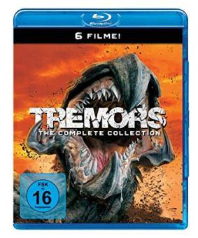 Tremors 1 - 6 (6 Discs) [Blu-ray]