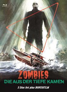 Zombies die aus der Tiefe kamen (Shock Waves) (Limited Mediabook, Blu-ray+DVD, Cover C) (1977) [FSK 18] [Blu-ray]