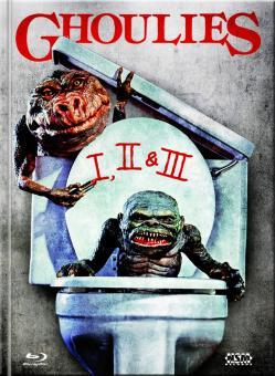 Ghoulies 1-3 (Limited Mediabook, 3 Discs) [FSK 18] [Blu-ray]