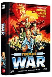Troma's War (Limited Mediabook, Blu-ray+DVD) (1988) [FSK 18] [Blu-ray]
