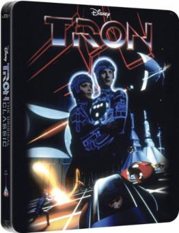 Tron (Limited Steelbook Edition) (1982) [UK Import mit dt. Ton] [Blu-ray]