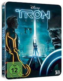 TRON Legacy (limitierte Erstauflage im Steelbook / 3D Blu-ray + 2D Blu-ray + Digital Copy) (2010) [Blu-ray]