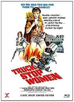 Truck Stop Women (Limited Mediabook, Blu-ray+DVD, Cover A) (1974) [FSK 18] [Blu-ray]