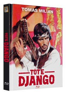 Töte Django (Limited Edition, Mediabook) (1967) [FSK 18] [Blu-ray]