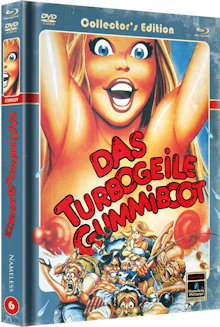 Das turbogeile Gummiboot - Up the Creek (Limited Mediabook, Blu-ray+DVD, Cover C) (1984) [Blu-ray]