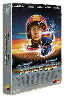 Turbo Kid (5 Disc Limited VHS Edition, Blu-ray+2 DVDs+2 CDs, Cover A) (2015) [Blu-ray]