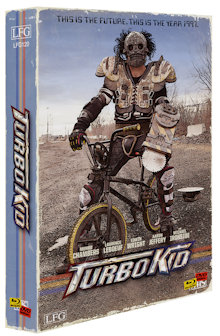 Turbo Kid (5 Disc Limited VHS Edition, Blu-ray+2 DVDs+2 CDs, Cover B) (2015) [Blu-ray]