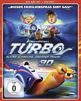 Turbo - Kleine Schnecke, großer Traum (3D Blu-ray+Blu-ray) (2013) [3D Blu-ray]