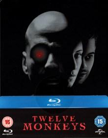 12 Monkeys (Limited Steelbook) (1995) [UK Import] [Blu-ray]