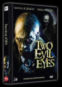 Two Evil Eyes (Limited Mediabook, Limitert auf 111 Stück, Cover B) (1990) [FSK 18]