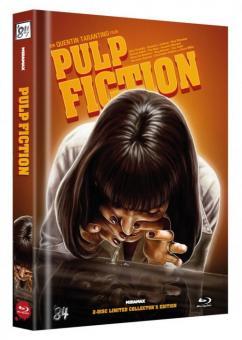 Pulp Fiction (Limited Mediabook, Blu-ray+DVD, Cover B) (1994) [Blu-ray]
