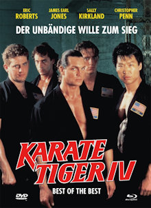 Karate Tiger 4 - Best of the Best (Limited Mediabook, Blu-ray+DVD, Cover B) (1989) [Blu-ray]