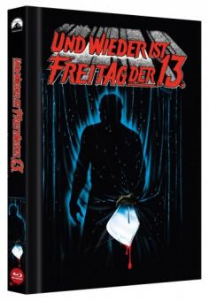 Freitag der 13. Teil 3 (Limited Collector's Edition Mediabook, Cover B) (1982) [Blu-ray]