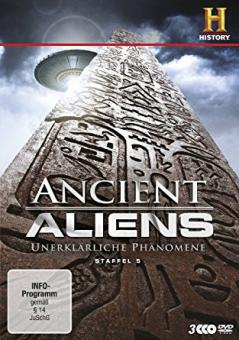 Ancient Aliens - Unerklärliche Phänomene, Staffel 5 (3 DVDs)