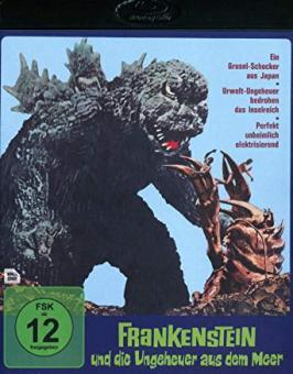 Frankenstein und die Ungeheuer aus dem Meer (1966) [Blu-ray]