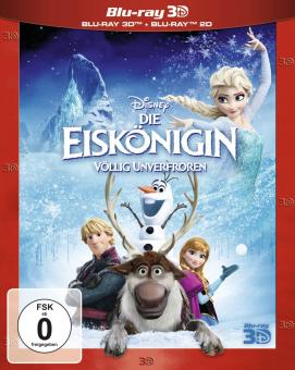 Die Eiskönigin - Völlig Unverfroren (+Blu-ray) (2013) [3D Blu-ray]