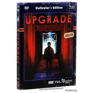 Upgrade (Limited Mediabook, Blu-ray+DVD, Cover C) (2018) [Blu-ray]