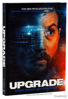 Upgrade (Limited Mediabook, Blu-ray+DVD, Cover A) (2018) [Blu-ray]