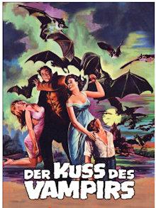 Der Kuss des Vampirs (3 Disc Limited Mediabook, Blu-ray+2 DVDs, Cover B) (1963) [Blu-ray]